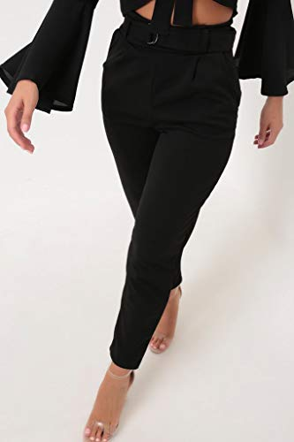 Noir I Saw Pantalon 6 It Femme First w6Aqn76a