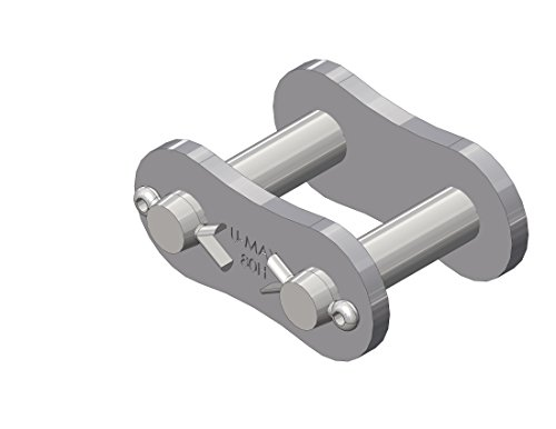 Senqcia Ultra-Max 60HUMRB Heavy Series Riveted Chain, Single Strand, 10