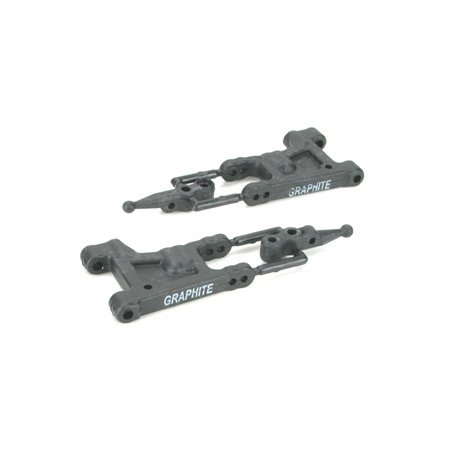 Rear Suspension Arm Set Graphite:JRX-S LOSA9861