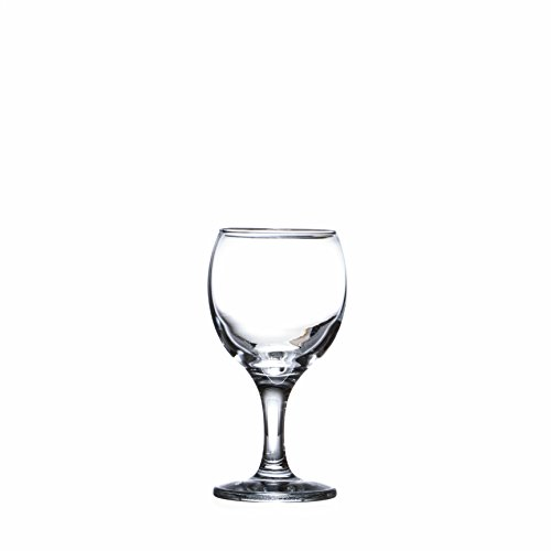 BISTRO 12-piece Wine Glasses Set (in 3 size), White, Red and Liquor Wine, Restaurant&Bar Quality, Durable Tempered Glass, Heavy Base, t.m. Pasabache (7 1/2 oz) by Pasabache (Image #4)'