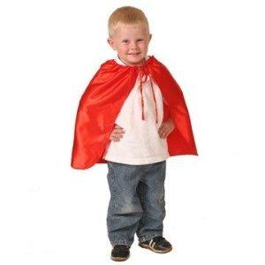 ro Satin Cape (Red Child Cape)