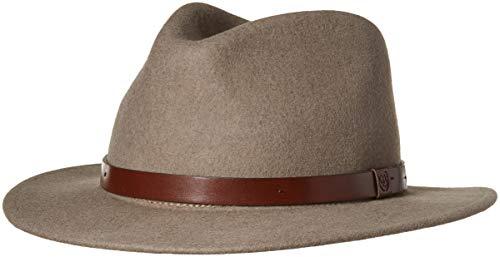 5dd7fa4050c ... ireland brixton mens messer medium brim felt fedora hat heather natural  s. u2039 u203a dade8 discount code for ...