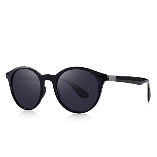 17a3bed6d51c Men Women Classic Retro Rivet Polarized Sunglasses TR90 Legs Lighter Oval  Frame UV400