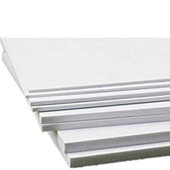 Amazon.com: PVC Foam Board Sheet,5 PCS,3mm (1/8 inch) x 8