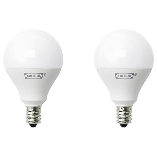 Ikea E12 400 Lumen LED Light Bulb 5 Watt - Pack of 2