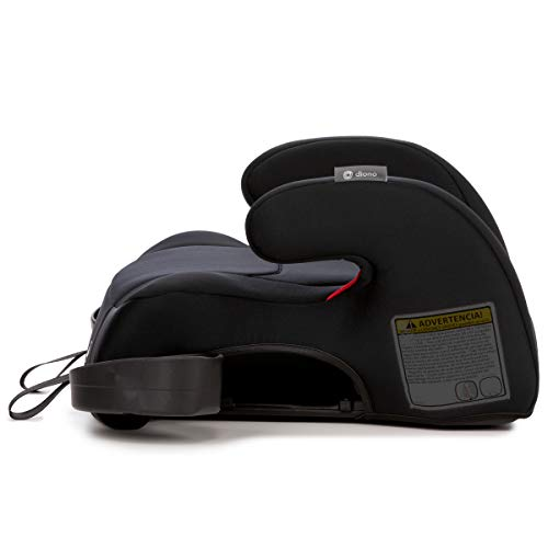 31QNDGCuy8L - Diono Solana 2 Latch, XL Space Backless Booster Seat, | Lightweight Backless Booster With Room To Grow, 8 Years 1 Booster Seat, Black