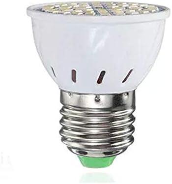 Brillante Bombilla LED blanca White Spot Lightt lámpara blanco cálido 3.5W 27 SMD no regulables