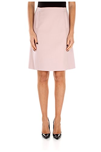 P175FIOPALINE Prada Faldas Mujer Lana Rosa Rosa