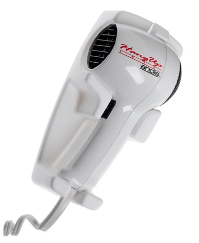 Andis 30130 Hangup 1600w Wall Mount Hair Dryer Andis