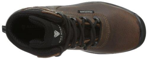 Maxguard CLINT 900232 - Zapatos de protección de cuero para unisex-adultos Marrón (Braun (Braun))