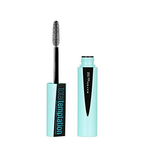 Maybelline Makeup Total Temptation Waterproof Mascara, Waterproof Mascara, Very Black, 0.3 fl oz