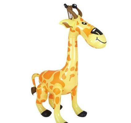 Amazon.com: Hinchable Zoo giraffe- de tres 24