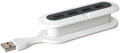 Quirky Contort 4-Port USB Hub