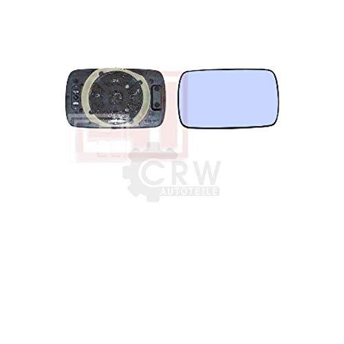 Au/ßenspiegelglas Spiegel rechts f/ür 3er E30 Bj.11//82-09//87 Beheizbar
