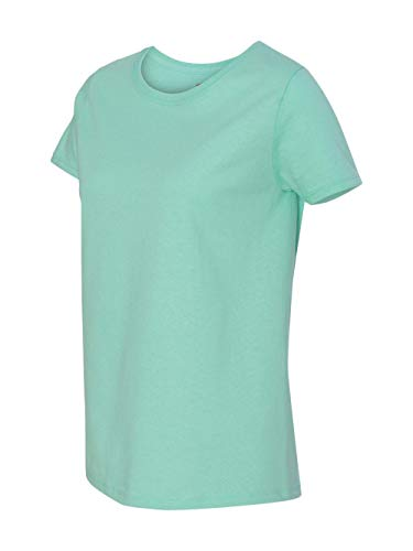 (Hanes Women's T-Shirt - X-Large - Clean Mint)