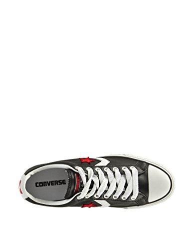 Converse - Informal adultos unisex Negro / Blanco / Rojo