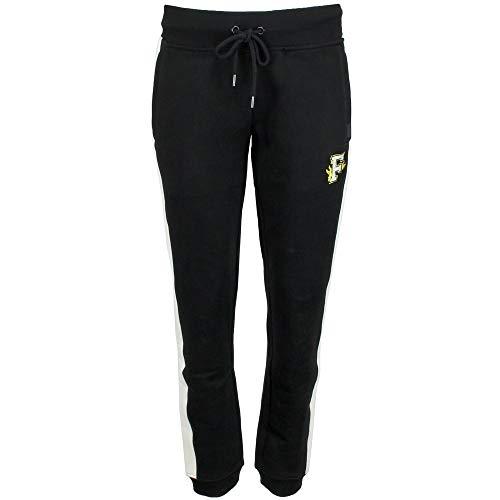 - PUMA Women's Fitted Panel Sweatpants Puma Black Small 29