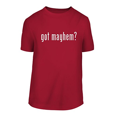 got mayhem? - A Nice Men's Short Sleeve T-Shirt Shirt, Red, - Allstate Mayhem