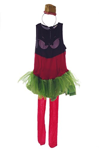 Marvin The Martian Girl Child Costumes (Marvin the Martian Girls Costume Medium 8-10)