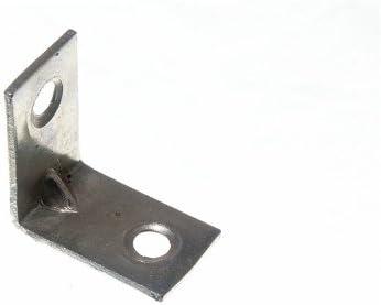 CORNER BRACE ANGLE BRACKET 25MM X 16MM X 1.5MM 4MM HOLE BZP pk 50