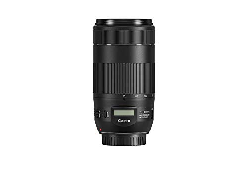 Canon EF 70-300mm f/4-5.6 is II USM Lens for Canon DSLR with US Warranty Card (US Model)