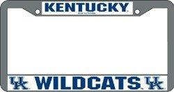 Rico Kentucky Wildcats Chrome Frame, ( 094746098865 ) (Kentucky Frame)