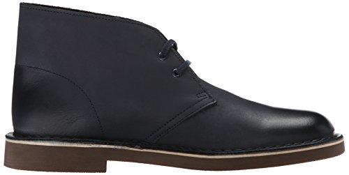 Bushacre 2 Clarks Desert Boots Pour Homme, En Cuir Bleu Foncé, 7 M Us