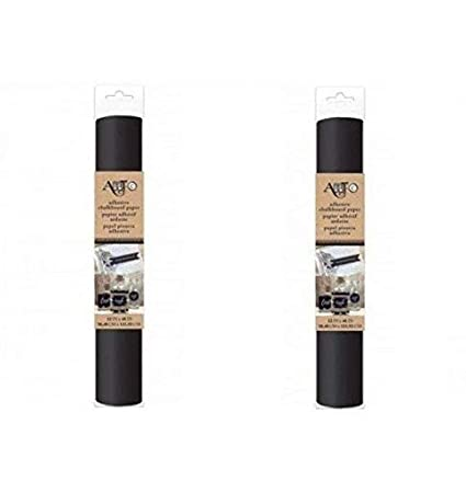 Amazon Self Adhesive Chalkboard Craft Paper Roll Pack Of 2