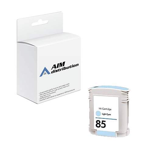 AIM Compatible Replacement for HP DesignJet 30/90/130 Light Cyan Inkjet (69 ML) (NO. 85) (C9428A) - Generic
