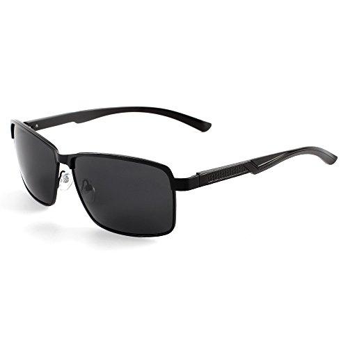 Protección y Hombre polarizadas Mujer UV 400 Sol de B C Goolife Gafas para XwYaq8q
