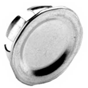 Bridgeport 1693 Blank Knockout Plug; 1 Inch, Steel, Snap-In, Pack of 10