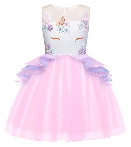 Cotrio Unicorn Costumes Girls Princess Tutu Dresses Pageant