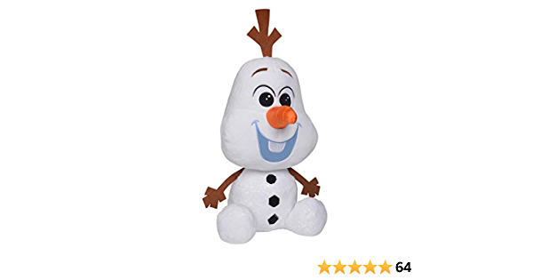 Simba 6315877627 Disney Frozen 2 Chunky Olaf 43 cm