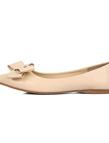 PDX/ Damenschuhe - Ballerinas - Kleid - Kunstleder - Flacher Absatz - Ballerina / Spitzschuh / Geschlossene Zehe -Schwarz / Rosa / Rot / , pink-us5.5 / eu36 / uk3.5 / cn35 , pink-us5.5 / eu36 / uk3.5