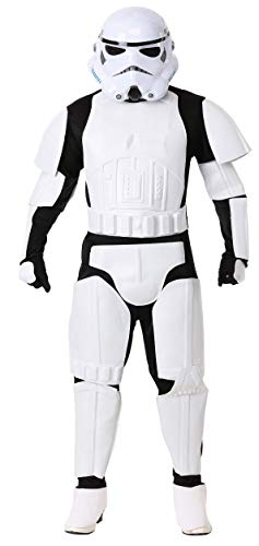 Rubie's Costume Star Wars Deluxe Stormtrooper, White, One Size Costume -