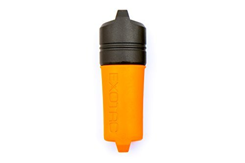 Exotac fireSLEEVE Ruggedized Waterproof Lighter Case - Orange