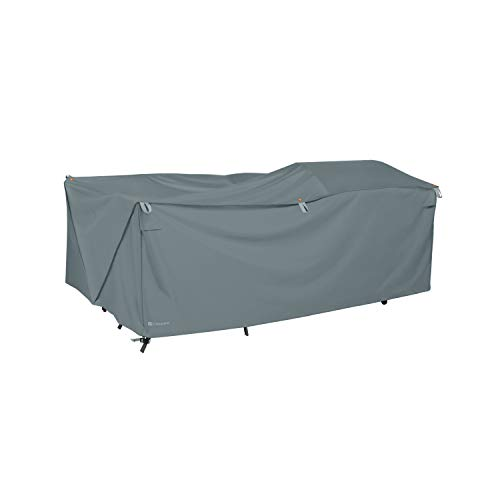 Classic Accessories 56-330-051001-EC Patio Furniture, Grey Storigami General Purpose Cover, X-Large