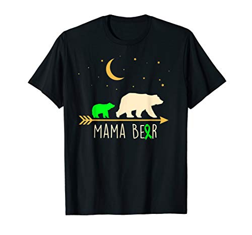 (Mama Bear Cerebral Palsy Awareness Ribbon with Child T)