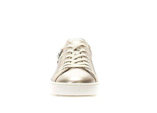 Nero in Sneaker e Giardini Pelle Sabbia Donna Tessuto qZrEqw5