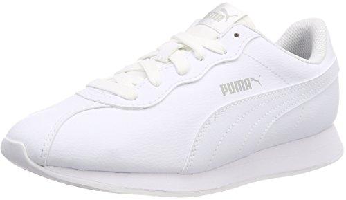 Puma Mixte Adulte Turin Ii Chaussure, Blanc (puma Blanc-blanc 3)