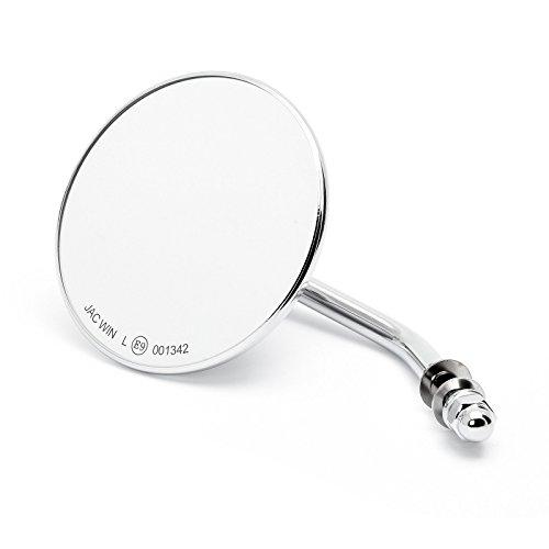 Aangepaste spiegel rond 4″ chroom met E-goedkeuring, voor Harley-Davidson®
