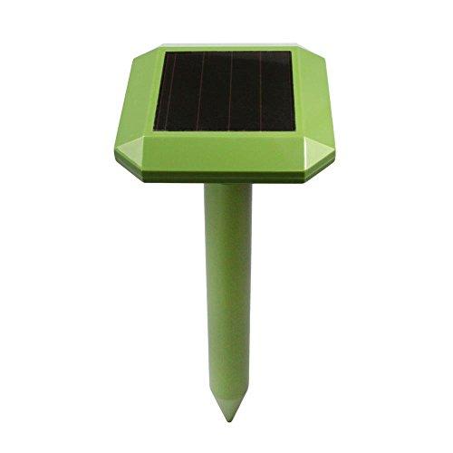 Serenelife Solar Power Mole Repeller - Powered Outdoor Ul...