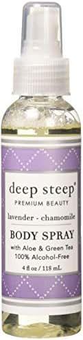 Deep Steep Body Mist, Lavender Chamomile, 4 Fluid Ounce