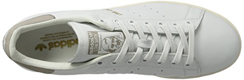 adidas Stan Smith, Sneaker Uomo Bianco (Footwear White/Footwear White/Clear Granite)