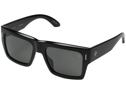 f23077ddc2 Spy Optic Unisex Bowery Black Injected Grey Polarized Sunglasses