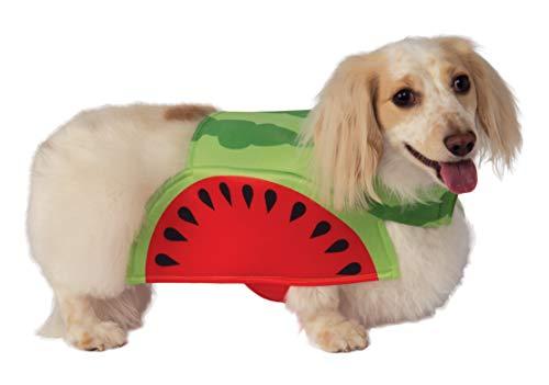 Watermelon Halloween Costumes - Rubie's Watermelon Pet Costume,