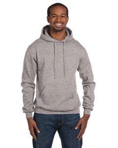 (Champion Men's Front Pocket Pullover Hoodie Sweatshirt, Large, Light Steel )