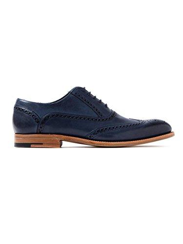 Barker - Zapatos de cordones para hombre