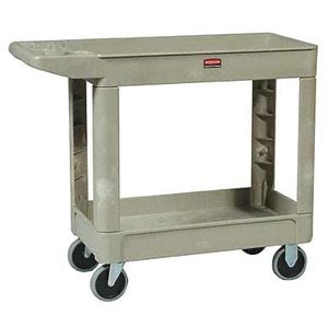 Bunzl Distribution Midcentral 17704500 Rubbermaid 4500-88 Utility Cart, Beige by Bunzl Distribution Midcentral