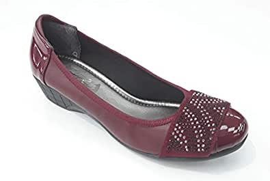LEMEX Cherry Heels Shoes For Women